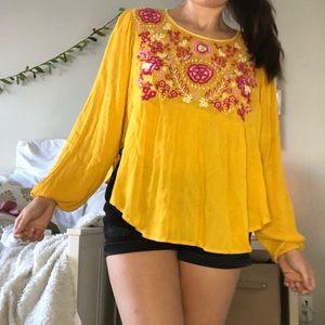 💛 altard state BOHO blouse
